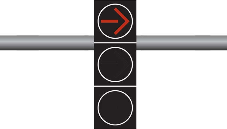 Can You Turn Against a Red Arrow? - California DMV Practice Test