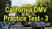 California Permit Practice Test - 3