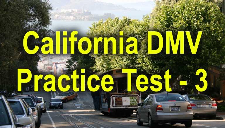 California Permit Practice Test - 3