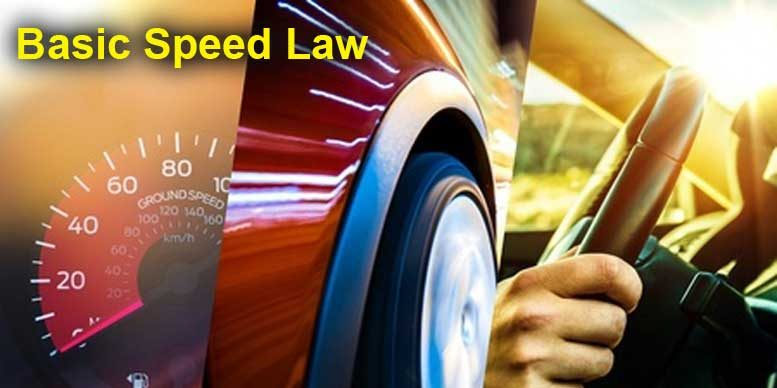 California Basic Speed Law - Copyright: welcomia