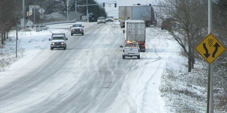Snow and Ice conditions - Oregon Department of Transportation