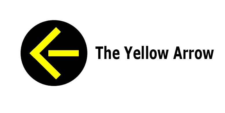 Yellow arrow signal