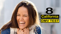 California DMV test 8