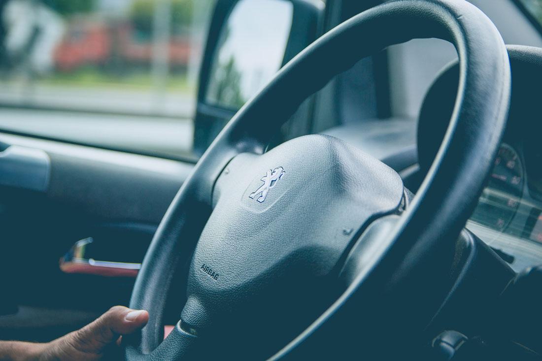 Steering Wheel - Photo by Alvaro Reyes on Unsplash