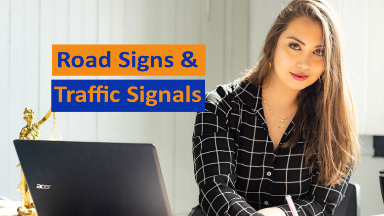 road signs traffic signals test - Photo by Mateus Campos Felipe on Unsplash