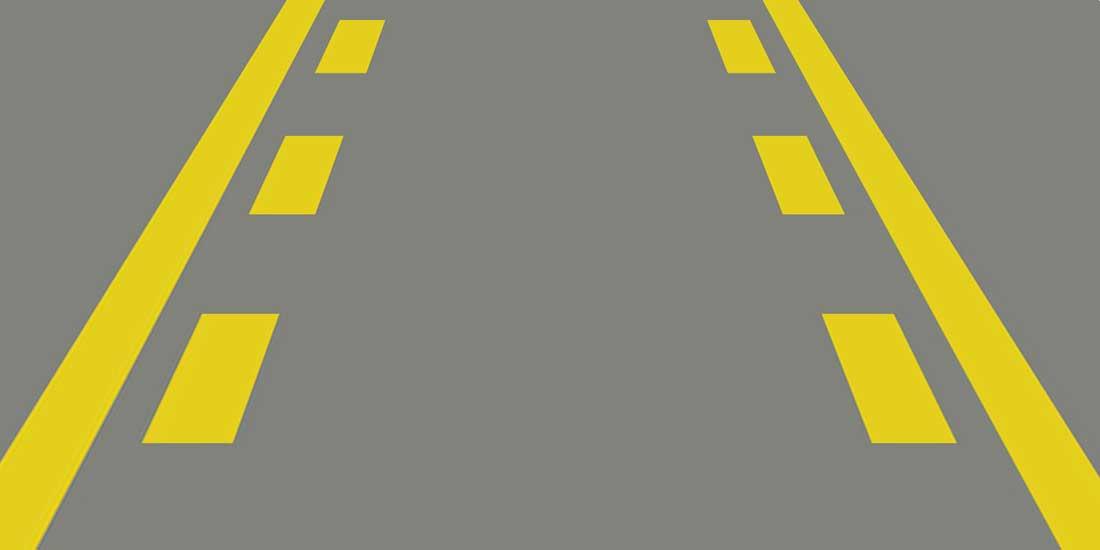 Pavement Markings: Center Left Turn Lane